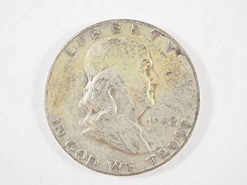1952 P Franklin Silver Half Dollar Half Dollars ()