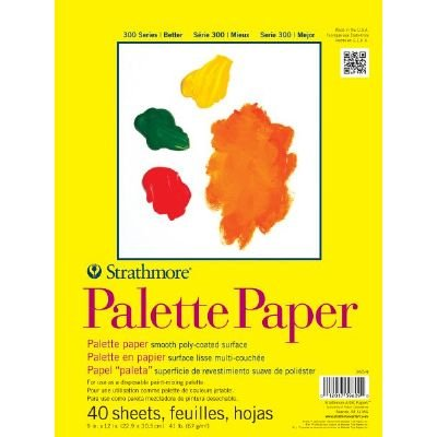 6 Pack 9'' x 12'' Tape Bound Palette Paper Pad (Product Catalog: Paper Media, Canvas & Surfaces)