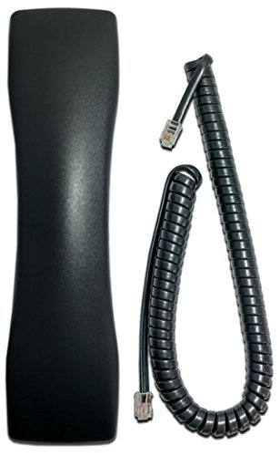(Comdial Vertical Edge 100 & ConversIP EP100 Series Compatible Handset WITH CURLY CORD)