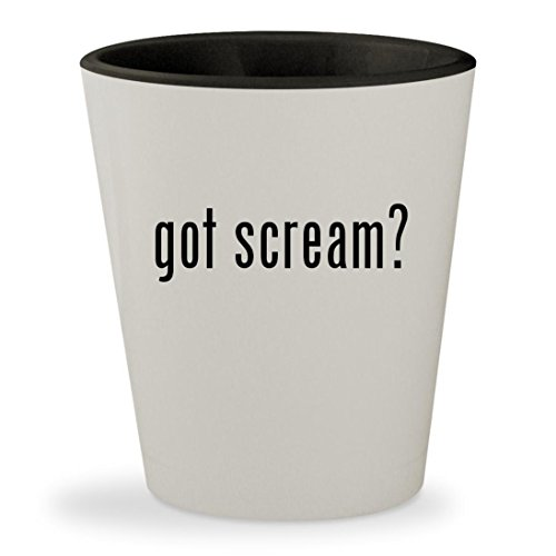 Michael Jackson Costume Party City (got scream? - White Outer & Black Inner Ceramic 1.5oz Shot Glass)