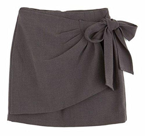 erdbeerloft - Falda - Opaco - para mujer gris