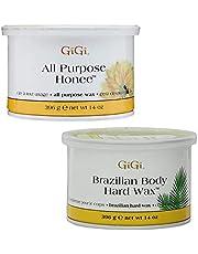 GiGi All Purpose Honee 14 oz + Brazilian Body Hard Wax 14 oz