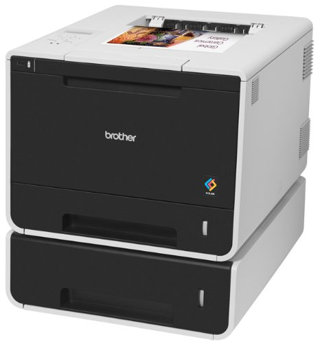 Brother Printer HLL8350CDWT Wireless Color Laser Printer, Amazon Dash Replenishment Enabled by Brother (Image #1)