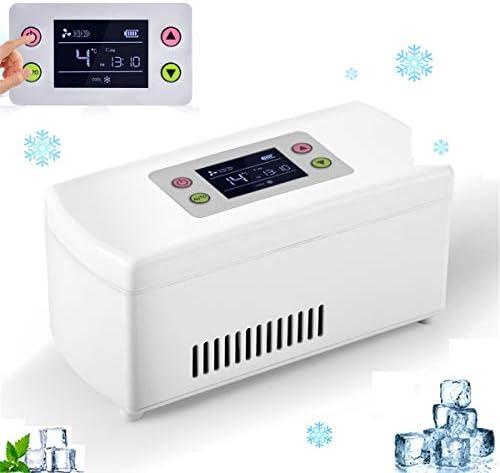 2020新ミニ医学冷蔵庫や車、旅行、家庭用インスリンクーラー - 薬のためのポータブルカー冷凍ケース/スモールトラベルボックス