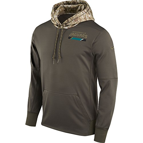 NFL NIKE 2017 Jacksonville Jaguars Salute To Service Hoodie Pullover (X- Large) by NFL NIKE
