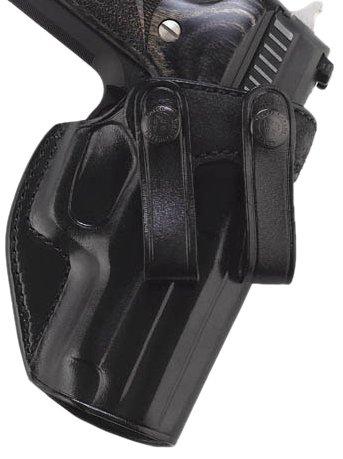 Galco Summer Comfort Inside Pant Holster for H&K USP Compact 9/40 (Black, Left-Hand)