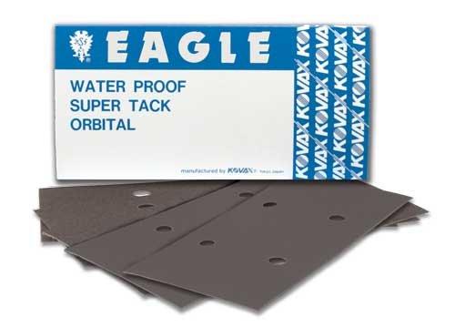 Eagle 796-1000 - SUPER-TACK Wet Sanding Sheets - 75mm x 155mm - Grit P1000 - 50 shts/sleeve Review