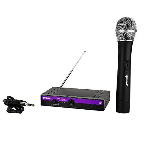 4Channel Wireless Microphone System (Wireless) 204.6MHz–Gemini...