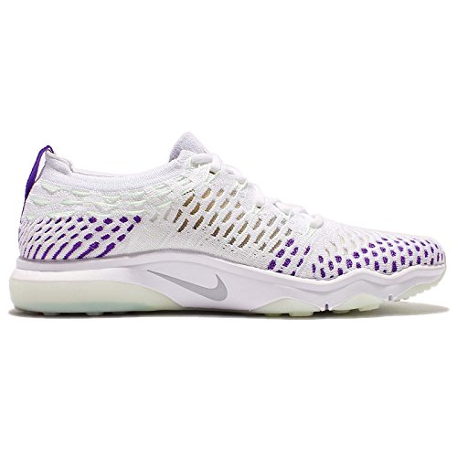 Lupo Zoom Da Tennis Corsa Wolf Bianco Grey hyper Paura Donna Flyknit Air Uva Scarpe 850426 Nike Senza Txf1WO