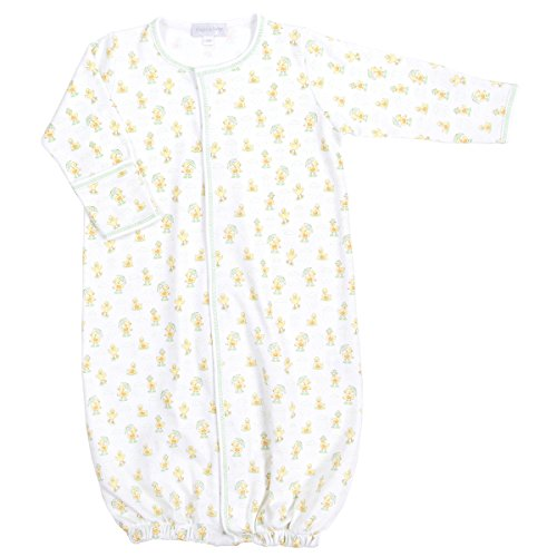 Printed Converter Gown (Magnolia Baby Unisex Baby Puddle Ducks Printed Converter Gown Celery)
