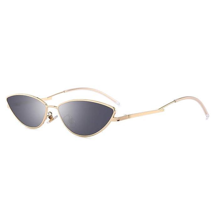 AMZTM Gafas Pequeñas de Ojo de Gato - Gafas de Moda Vintage ...