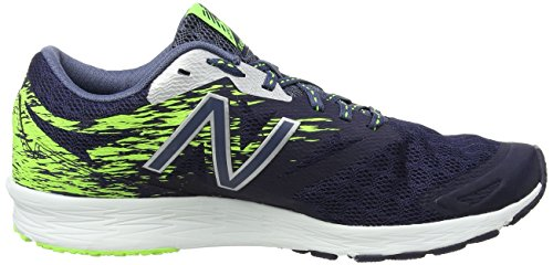 New Balance Flash, Scarpe Sportive Indoor Uomo Multicolore (Dark Cyclone/Energy)
