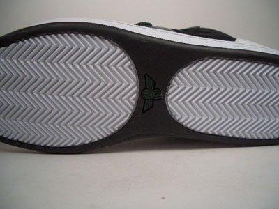 Creative Recreation testa Mid Bianco Nero Verde cr15220Taglia 42/US 9/UK 8/27cm