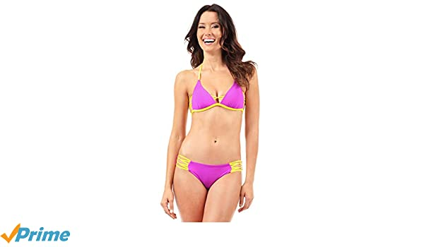 Voda Swim Women's Envy Push Up Double String Bikini Top