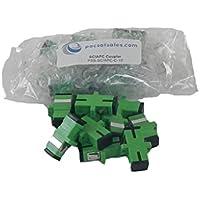 SC/APC to SC/APC Coupler / Adaptor - Single-Mode - 10 Pack - Commercial QUALITY