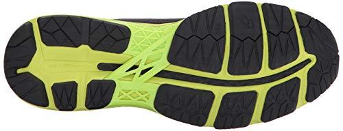 ASICS Mens Gel-Kayano 24 Running Shoe Black/Green Gecko/Phantom 6 Medium US by ASICS (Image #3)