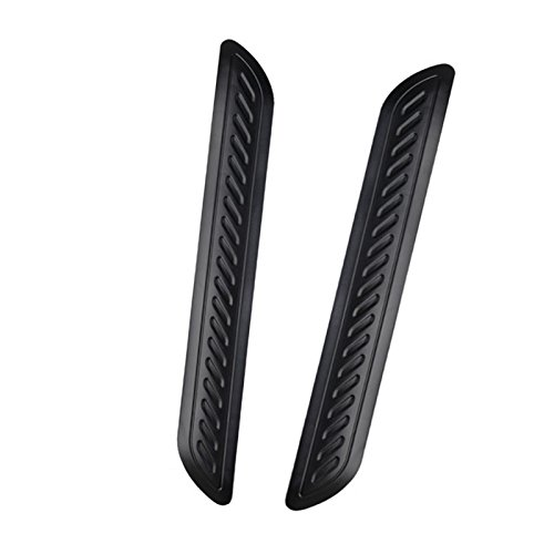 Wittyware Universal Automotive Bumper Guards Anti-collision Patch Bumper Guard Strip Anti-scratch Bumper Protector Trim for Cars (black)