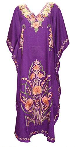 kaftan silk dress - 5