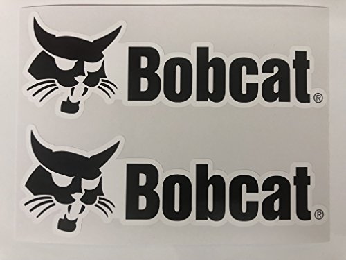 2 Bobcat Logo Big B Name Decals by ()