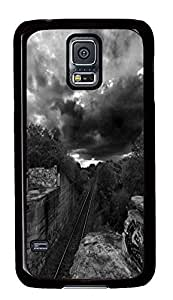 Samsung Galaxy S5 best cover Paved Roads PC Black Custom Samsung Galaxy S5 Case Cover