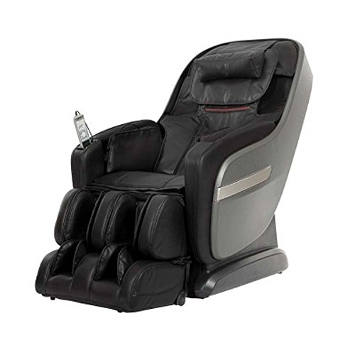Titan TPPROALPINEA Model TP-Pro Alpine Massage Chair in Black, L-Track Massage Function, Zero...