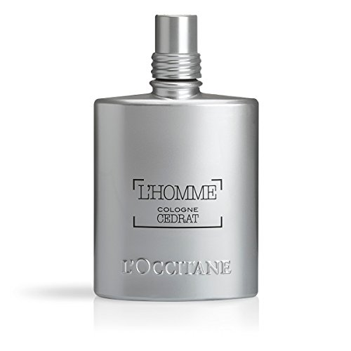 L'Occitane Zesty & Aquatic L'homme Cologne Cedrat Eau De Toilette for Men, 2.5 Fl. oz. ()
