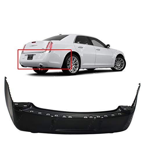 MBI AUTO - Primered, Rear Bumper Cover Replacement for 2011-2014 Chrysler 300 Sedan 11-14, CH1100966