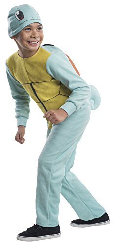 Squirtle Costume Kid (Rubie's Costume Pokemon Squirtle Child Costume, Large)