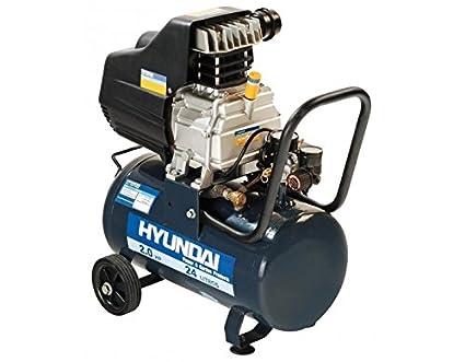 Compresor hyundai 24 lt 600x260x580 mm
