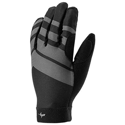 MTB Ultralite Gloves, Black/Anthracite/Charcoal Grey, Large ()