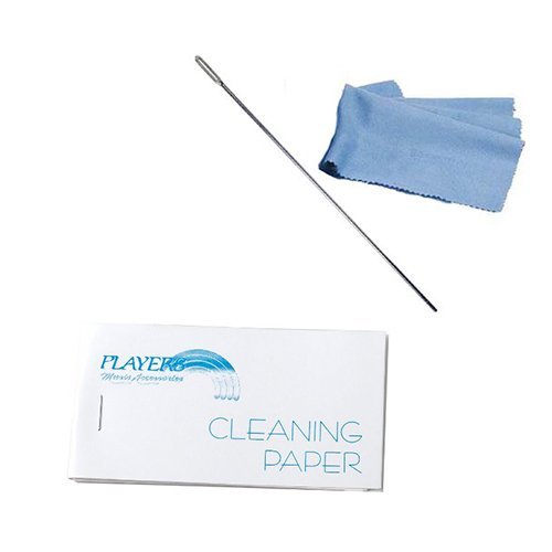 Flute Cleaning Kit - Cleaning Paper, Cleaning Rod & Cloth