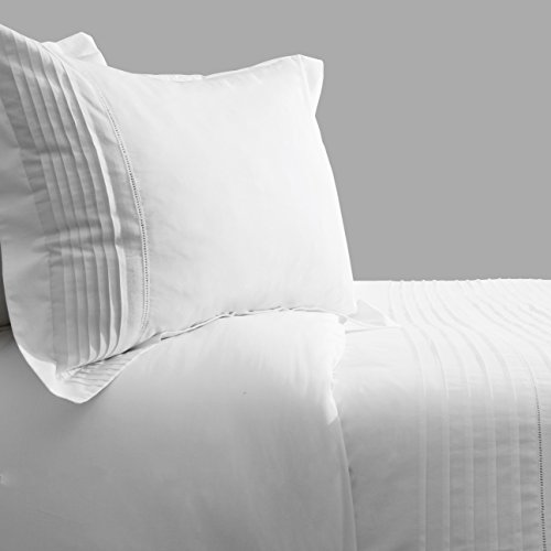 Hotel Collection Ballard 100% Egyptian Cotton Percale Duvet Cover Set Of 3 , Queen Size By Cambay Linens