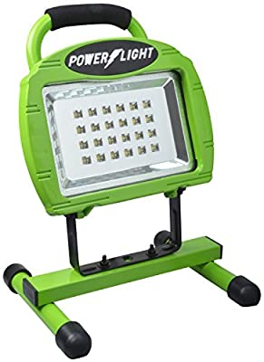 6 Pack Designers Edge L-1320 Eco-Zone 24-LED Rechargeable Indoor/Outdoor High Intensity Portable Work Light