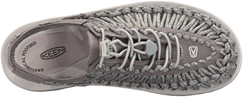 Keen Uneek W Neutral, Sneaker a Collo Basso Donna Multicolore (Grey/Gargoyle)