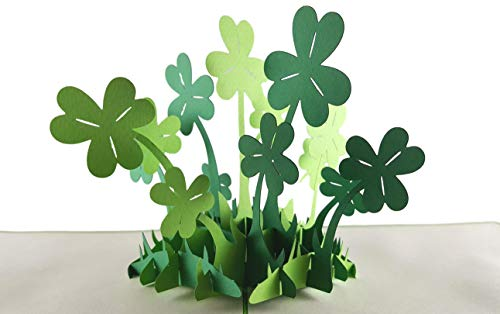 205fe8763db iGifts And Cards Happy St. Patrick s Day Clover 3D pop up card - Awesome
