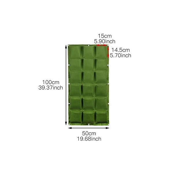 Starry sky Wall Hanging Piantare Borse 4/9/18/49/72 Tasche Green Grow Accessori for la Borsa Planter Verticale Orto… 1 spesavip