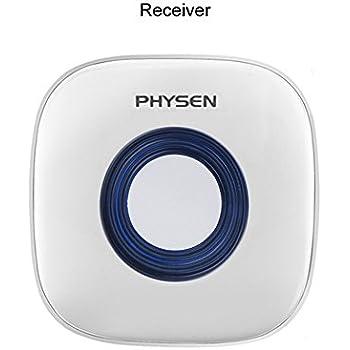 Physen Wireless Doorbell Kit Self Learning Code Plug In