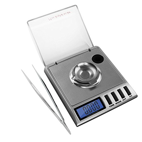 Kasstino High Precision Digital Milligram Scale 20 x 0.001g Reloading, Jewelry and Gems Scale by Kasstino