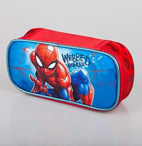 Marvel Spiderman Mochila, estuche y estuche escolar para niños Spider-Man: Amazon.es: Equipaje