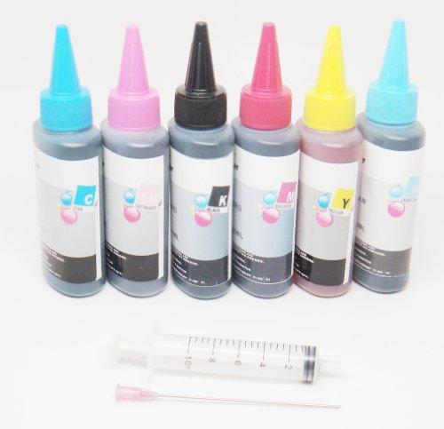 OPT Brand. Non-Oem Anti-UV Refill 600ml Dye Ink for Epson R260 R280 R380 Rx595 Rx580 Rx680 T078