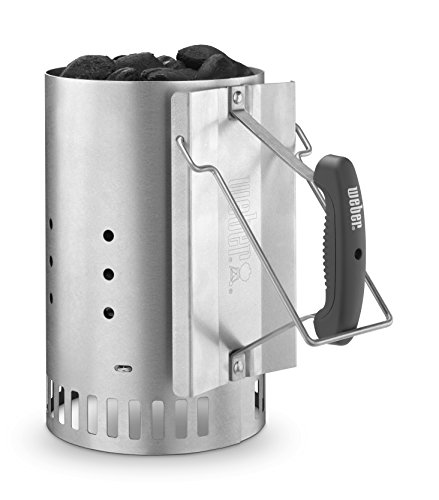 y 7429 Rapid Fire Chimney Starter, Silver (Coal Grate)