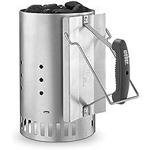 Weber Stephen Company 7429 Rapid Fire Chimney Starter, Silver