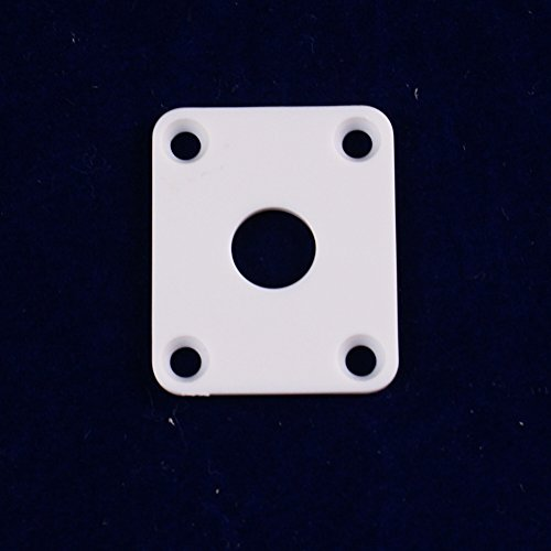 Used, Plastic Square output Jack Plate Cover for LP style for sale  Delivered anywhere in USA