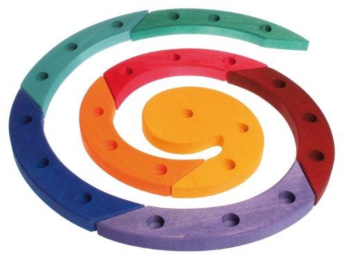 colord Woosen Birthday Spiral, Grimm's