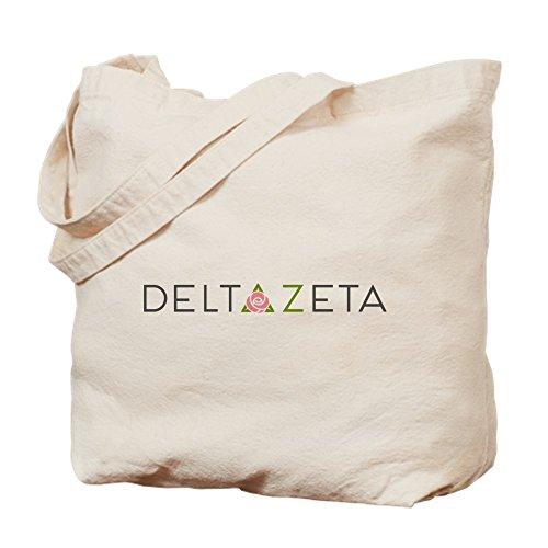 CafePress–Delta Zeta–Gamuza de bolsa de lona bolsa, bolsa de la compra