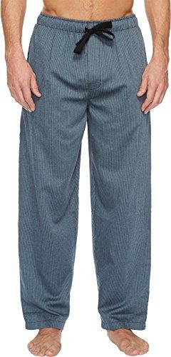 Jockey Men's Yarn Dye Woven Pajama Pant, Black/Blue Stripe, (Woven Yarn Dye)