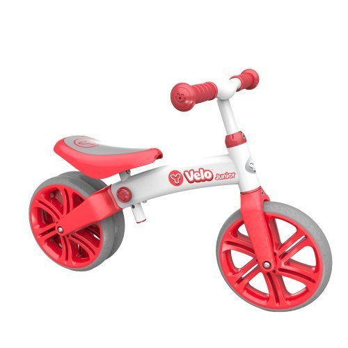 Yvolution Y Velo Junior | No-Pedal Balance Bike for Kids (red) [並行輸入品] B07BFSPQMC