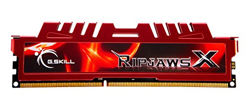 G.Skill 8GB (1 x 8GB) DDR3 PC3-12800 RipjawsX Series (10-10-10-30) Single module (F3-12800CL10S-8GBXL) ()