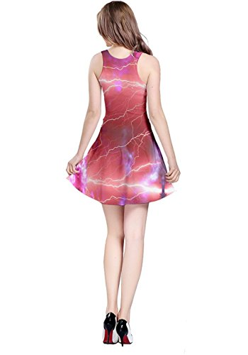 CowCow - Vestido - para mujer Pale Violet Red