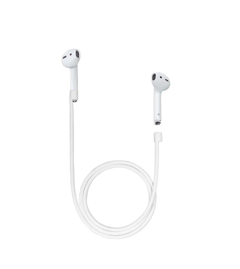 Airpods correa, anti-lost Cable de conexión inalámbrica para auriculares suave silicona cuerda para Apple Airpods: Amazon.es: Electrónica